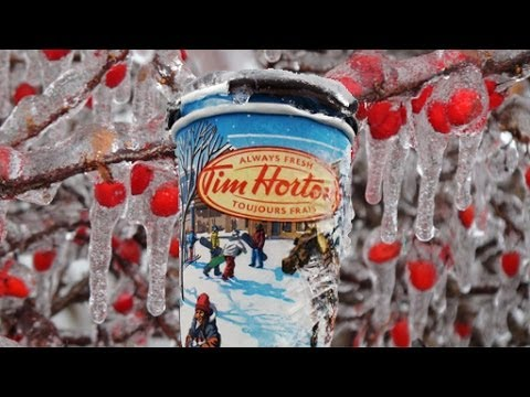 TORONTO ICE STORM 2013: ONTARIO CANADA - BEAUTIFUL BUT DANGEROUS; TREES & POWER DOWN!
