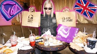 TRYING TACO BELL IN ANOTHER COUNTRY 🌮 DID I SURVIVE?!