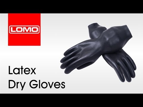 Latex Dry Gloves