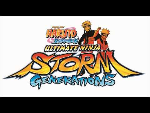 Naruto Shippuden Ultimate Ninja Storm Generations Soundtrack : Title Screen