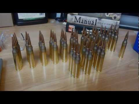 Savage 110BA 338 Lapua Magnum PART 1 - Work-Up Load