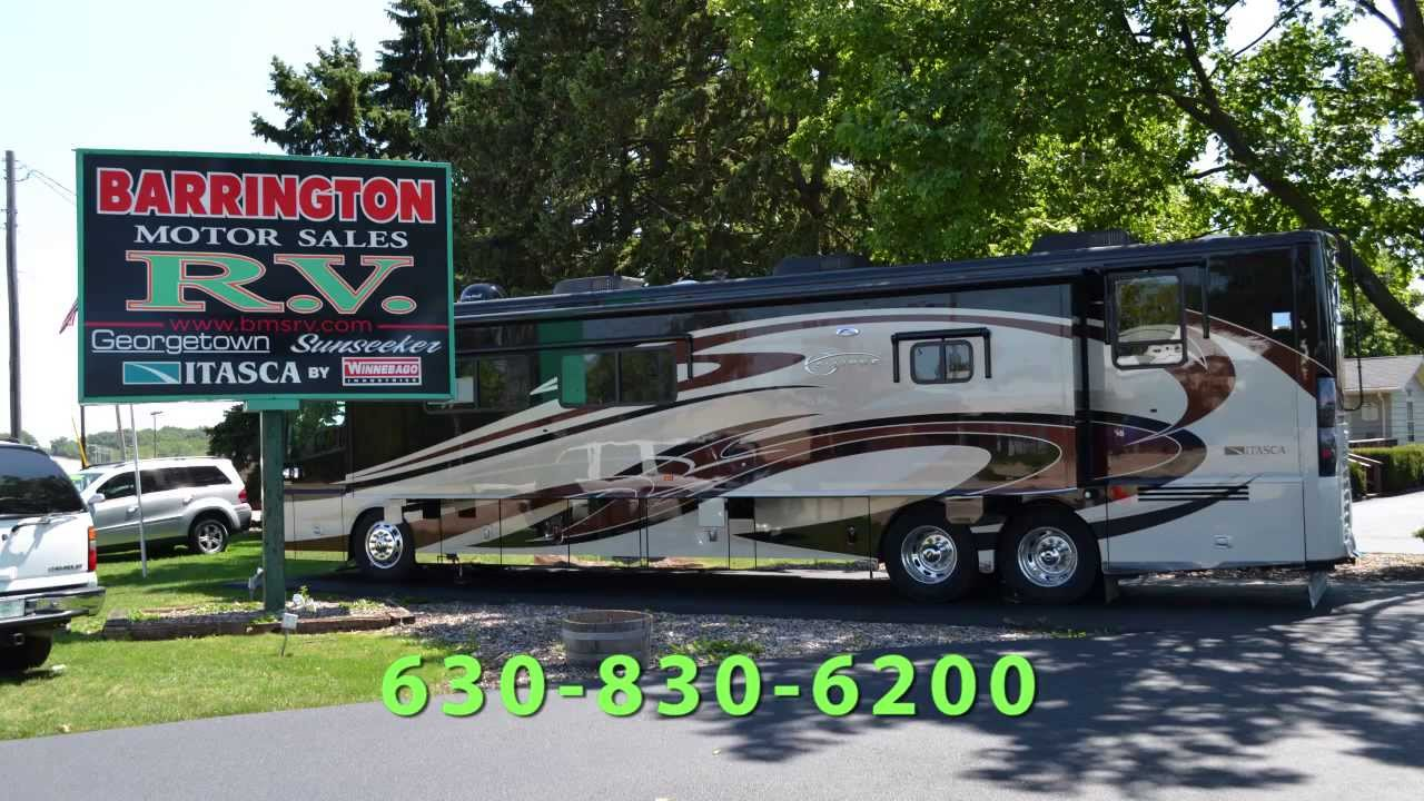 2014 chicago rv show rosemont illinois schedule youtube for Barrington motor sales rv
