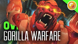 "Overwatch ""Gorilla Warfare"" – Custom Game Funny Moments"