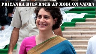 HLT - Priyanka Gandhi defends husband Robert Vadra