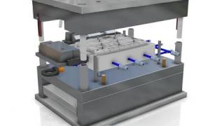 CATIA V6 | Mechanical Engineering & Design | Plastic Mold Tooling Design Creation