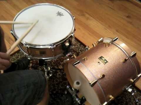 Niels Myrner - Funky New Orleans - Snare and Bass Drum Solo