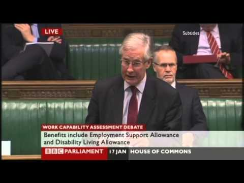 My speech on ATOS Work Capability Assessments
