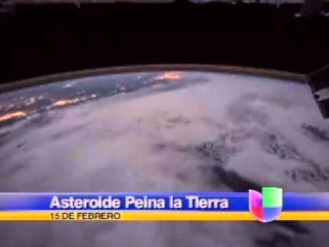 Asteroide 'Peina' la Tierra