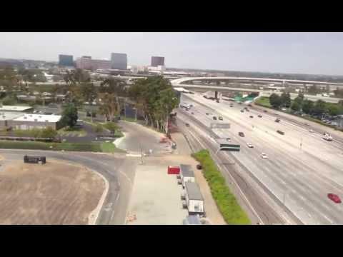 L.A Smog!  American Airlines 737-800 Landing in John Wayne!