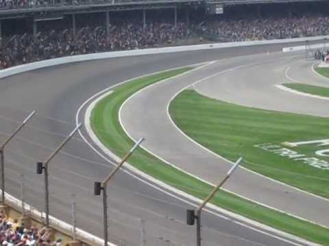 Dario Franchitti Crash @ 2013 Indy 500