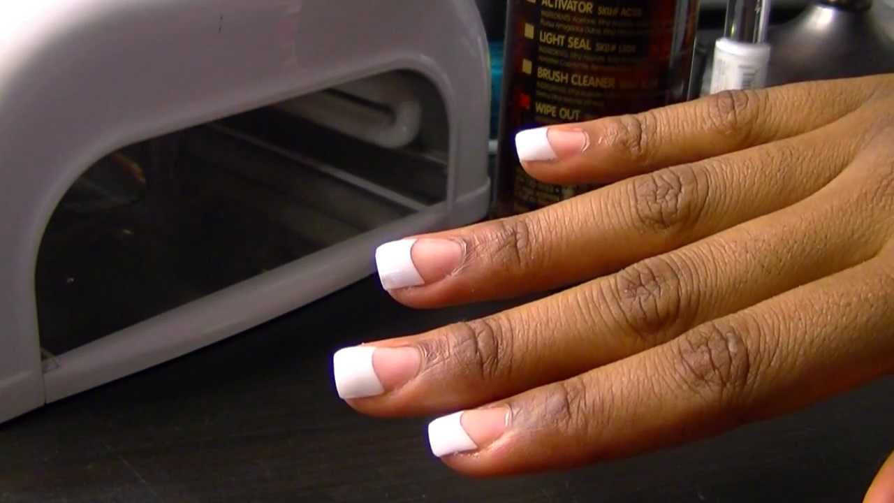 Youtube How To Do Uv Gel Nails 99