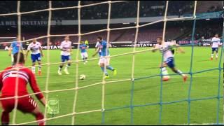 Napoli-Sampdoria 4-2 32a giornata di Serie A TIM 2014/2015 Sintesi (4 min)
