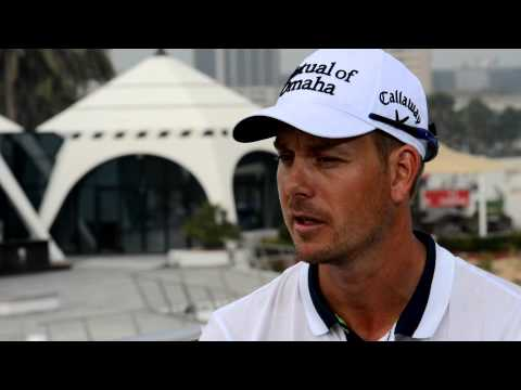Henrik Stenson commenting on how he turned personal disaster into the greatest year of his career