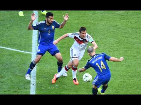 Mario Gotze Goal 1-0 Germany vs Argentina FIFA 2014 World Cup crowd reaction