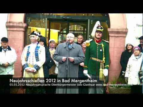 Neujahrsschiessen 2012 in Bad Mergentheim Teil 2