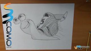 Como Desenhar O Caracol Turbo