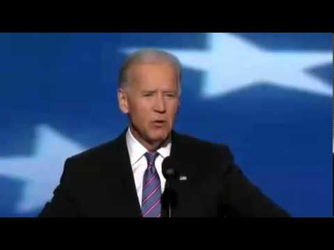 Joe Biden Full Speech 2012 DNC