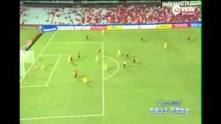 Ricardo Goulart faz tr�s gols e d� a vit�ria a seu time na China