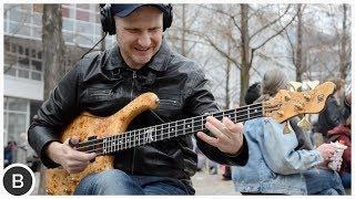 WOJTEK PILICHOWSKI - INSANE SLAP BASS SOLO | BassTheWorld.com