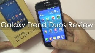 Samsung Galaxy Trend Duos Budget Android In-depth Review