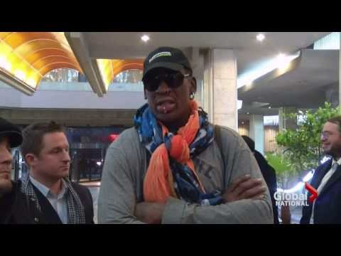 Former NBA star Dennis Rodman is back in North Korea