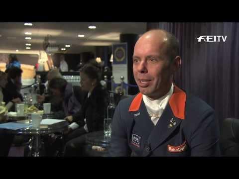 Reem Acra FEI World Cup™ Dressage 2013/14 - Stockholm - Hans Peter Minderhoud