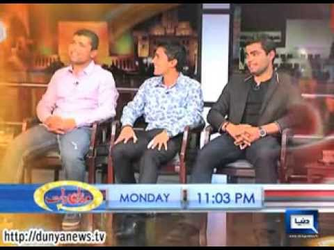 Dunya TV-Watch Kamran Akmal, Umer and Adnan Akmal in Mazaaq Raat Monday at 11:03 pm Only on Dunya TV