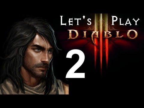 Diablo 3 Beta - Demon Hunter Let's Play: ForceHunt - Part 2