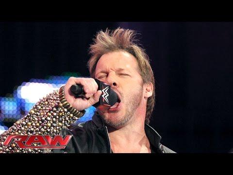 Chris Jericho est de retour à Raw le 4 janvier 2016
