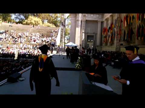 UC Berkeley Engineering Commencement Walk (Google Glass View)