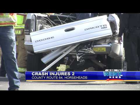 Horseheads Rt  64 Accident