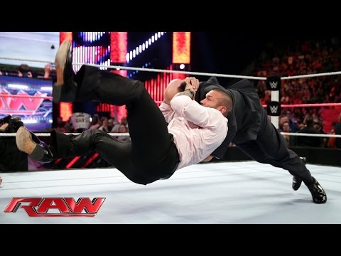 John Cena and Randy Orton prepare for Hell in a Cell: Raw, Oct. 20, 2014