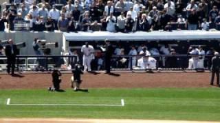 Introduction of New York Yankees - Opening Day - 4/16/09 @ New Yankee Stadium