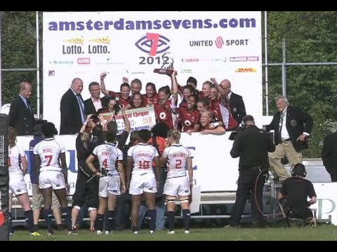 Ladies 7's FINAL: USA vs Canada - Day 2 Amsterdam Sevens 2012 - Ladies Sevens