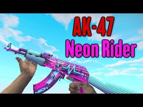 CS:GO - AK-47 *Neon Rider* Assault Rifle Gameplay •1440p/60ᶠᵖˢ•