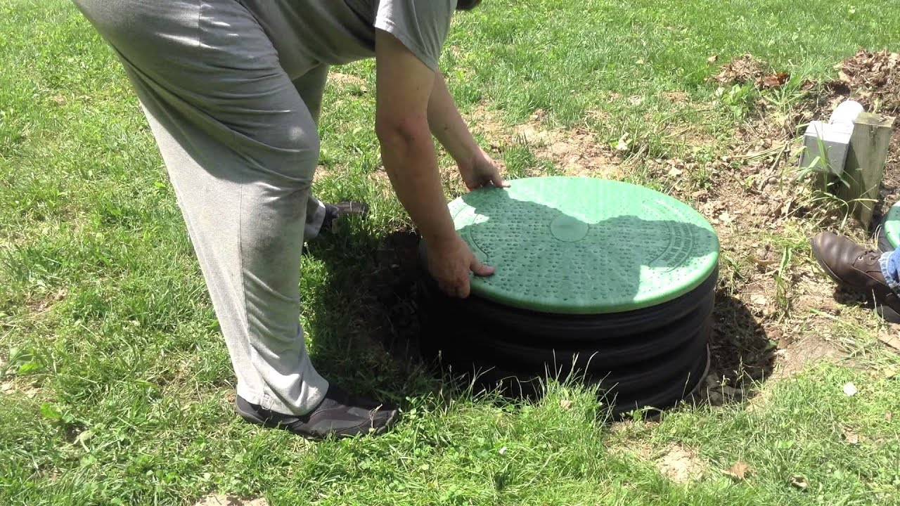 How To Install A Septic Tank Riser And New Lid Yourself