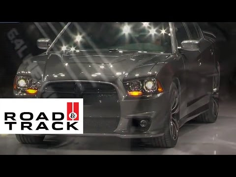 2012 Dodge Charger SRT8 @ 2011 Chicago Auto Show