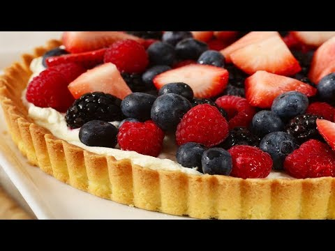 easy healthy fruit recipes puff pastry fruit tart