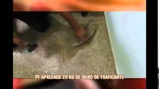 Pol�cia Federal apreende 20 quilos de ouro de traficante