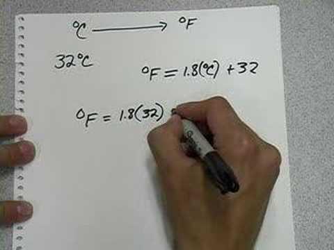 Convertir 180 Grados Centigrados A Fahrenheit
