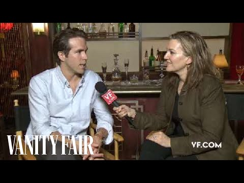 Ryan Reynolds - Behind The Scenes Interview At His Vanity Fair Hollywood Issue Cover Shoot