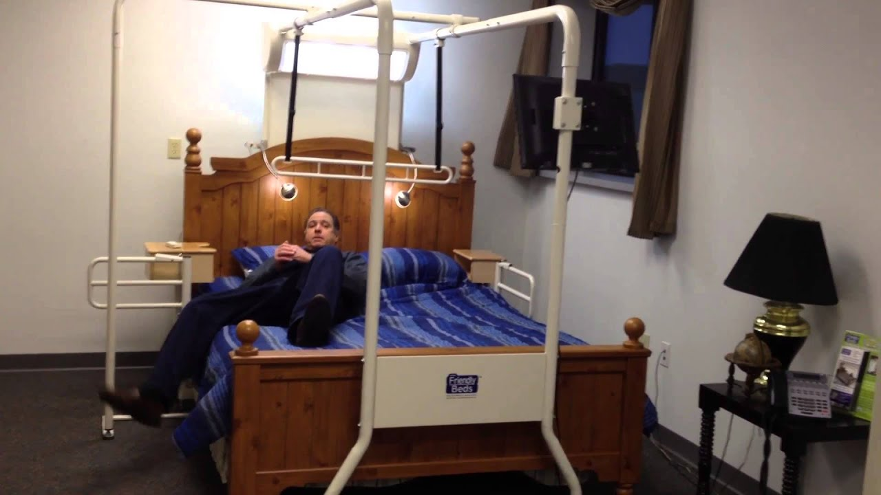 Bed Transfers Trapeze For Elderly Disabled Rehab Therapist