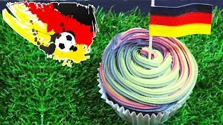FIFA World Cup 2014 Recipes : World Cupcake Germany