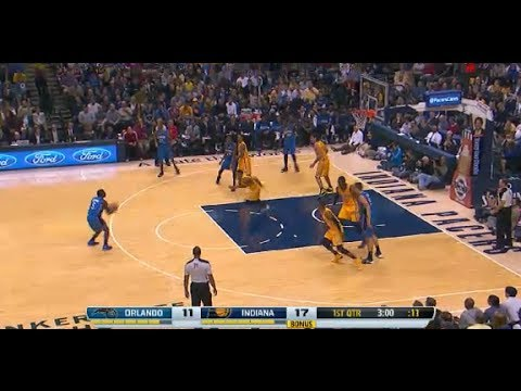 NBA Orlando Magic vs Indiana Pacers Game Highlights October 29 2013