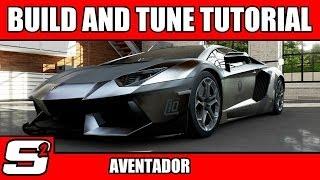 Forza 5 Build And Tuning Tutorial Lamborghini Aventador