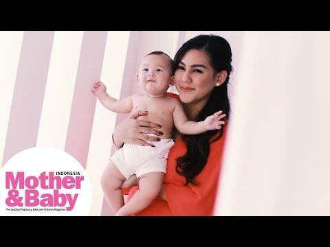 Behind The Scene: Pemotretan Sissy Prescillia Cover Mother&Baby edisi Maret 2016