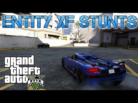 Grand Theft Auto V | ENTITY XF STUNT JUMPS | FASTEST CAR IN THE GAME?