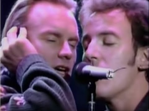 Bruce Springsteen & Sting - Every Breath You Take/The River