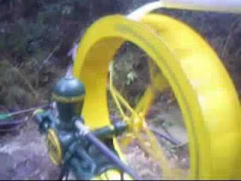 Instalação de bombas de roda d'água -- ZM Bombas -- Venezuela