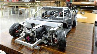 DIY RWD RC Drift Machine.